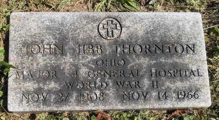 THORNTON, JOHN JIBB - Trumbull County, Ohio | JOHN JIBB THORNTON - Ohio Gravestone Photos