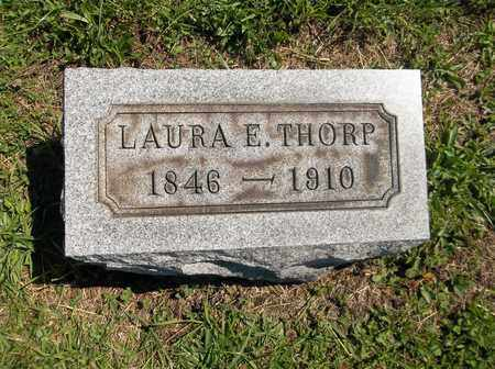 THORP, LAURA E. - Trumbull County, Ohio | LAURA E. THORP - Ohio Gravestone Photos