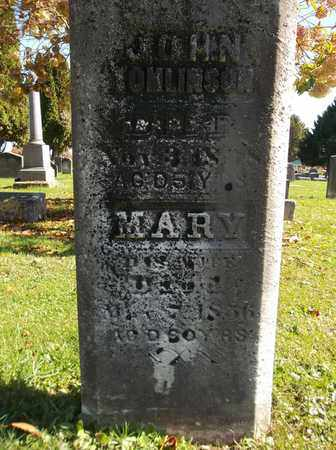 TOMLINSON, MARY - Trumbull County, Ohio | MARY TOMLINSON - Ohio Gravestone Photos