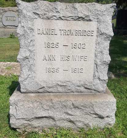 TROWBRIDGE, ANN - Trumbull County, Ohio | ANN TROWBRIDGE - Ohio Gravestone Photos
