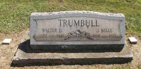 OSWALD TRUMBULL, JENNY BELLE - Trumbull County, Ohio | JENNY BELLE OSWALD TRUMBULL - Ohio Gravestone Photos