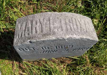 TRUXAL, MARY L. - Trumbull County, Ohio | MARY L. TRUXAL - Ohio Gravestone Photos