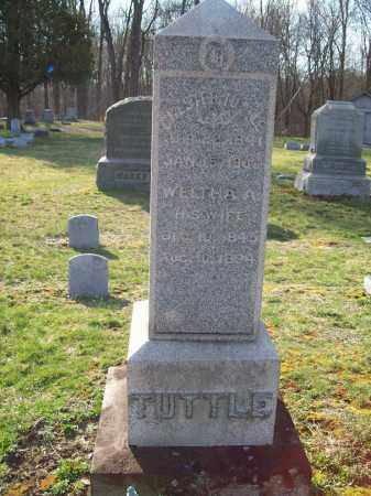 CASE TUTTLE, WELTHA A. - Trumbull County, Ohio | WELTHA A. CASE TUTTLE - Ohio Gravestone Photos