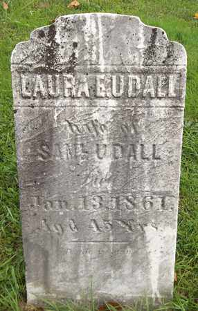 UDALL, LAURA E. - Trumbull County, Ohio | LAURA E. UDALL - Ohio Gravestone Photos