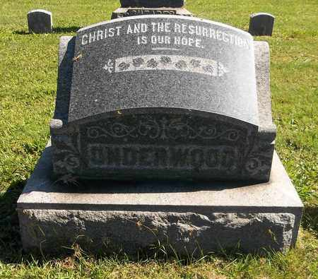 UNDERWOOD, GEORGIE H. - Trumbull County, Ohio | GEORGIE H. UNDERWOOD - Ohio Gravestone Photos