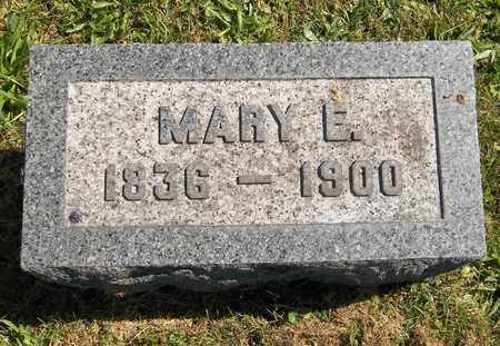 UNDERWOOD, MARY E. - Trumbull County, Ohio | MARY E. UNDERWOOD - Ohio Gravestone Photos