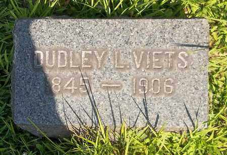VIETS, DUDLEY L. - Trumbull County, Ohio | DUDLEY L. VIETS - Ohio Gravestone Photos