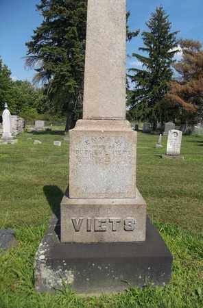 VIETS, EMMA J. - Trumbull County, Ohio | EMMA J. VIETS - Ohio Gravestone Photos