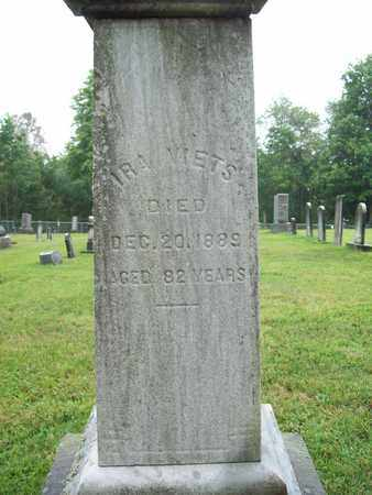 VIETS, IRA - Trumbull County, Ohio | IRA VIETS - Ohio Gravestone Photos