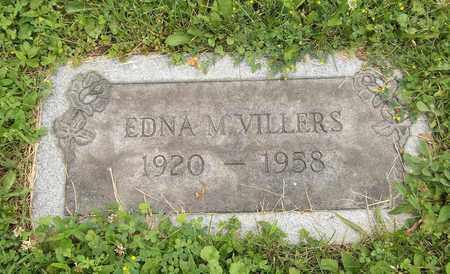 VILLERS, EDNA M. - Trumbull County, Ohio | EDNA M. VILLERS - Ohio Gravestone Photos
