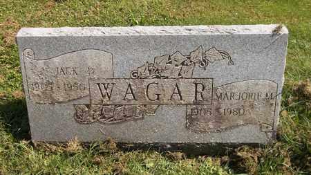 WAGAR, JACK D. - Trumbull County, Ohio | JACK D. WAGAR - Ohio Gravestone Photos
