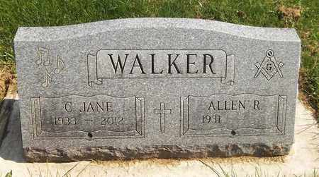 WALKER, ALLEN R. - Trumbull County, Ohio | ALLEN R. WALKER - Ohio Gravestone Photos