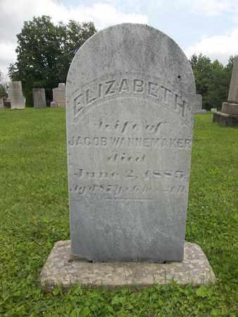 WANNEMAKER, ELIZABETH - Trumbull County, Ohio | ELIZABETH WANNEMAKER - Ohio Gravestone Photos