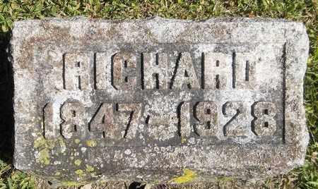 WANZER, RICHARD - Trumbull County, Ohio   RICHARD WANZER - Ohio Gravestone Photos