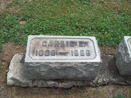 CALDWELL WARNER, CARRIE E. - Trumbull County, Ohio | CARRIE E. CALDWELL WARNER - Ohio Gravestone Photos