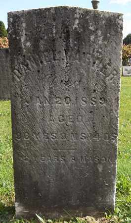 WARNER, DANIEL - Trumbull County, Ohio | DANIEL WARNER - Ohio Gravestone Photos