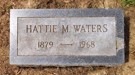 WATERS, HATTIE M. - Trumbull County, Ohio | HATTIE M. WATERS - Ohio Gravestone Photos
