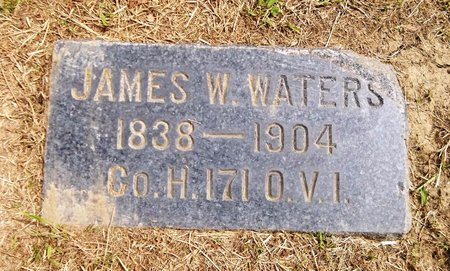 WATERS, JAMES W. - Trumbull County, Ohio | JAMES W. WATERS - Ohio Gravestone Photos