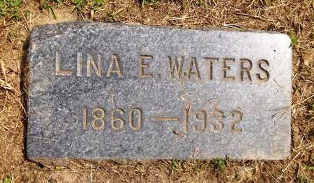WATERS, LINA E. - Trumbull County, Ohio | LINA E. WATERS - Ohio Gravestone Photos