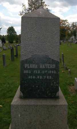 WATERS, PLUMA - Trumbull County, Ohio | PLUMA WATERS - Ohio Gravestone Photos