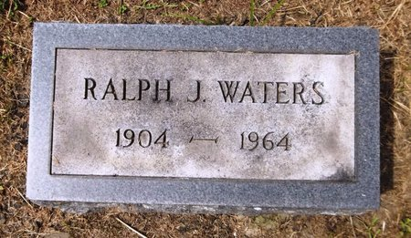 WATERS, RALPH J. - Trumbull County, Ohio | RALPH J. WATERS - Ohio Gravestone Photos