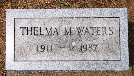 WATERS, THELMA M. - Trumbull County, Ohio | THELMA M. WATERS - Ohio Gravestone Photos