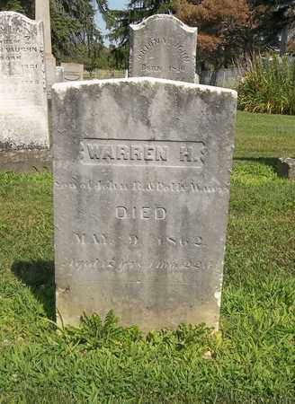 WATERS, WARREN H. - Trumbull County, Ohio | WARREN H. WATERS - Ohio Gravestone Photos
