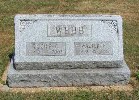 CALDWELL WEBB, LUCILLE - Trumbull County, Ohio | LUCILLE CALDWELL WEBB - Ohio Gravestone Photos
