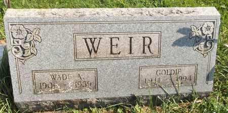 WEIR, GOLDIE - Trumbull County, Ohio | GOLDIE WEIR - Ohio Gravestone Photos