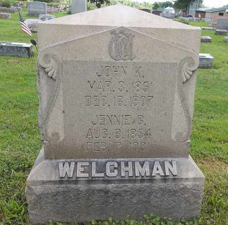 WELCHMAN, JOHN K. - Trumbull County, Ohio | JOHN K. WELCHMAN - Ohio Gravestone Photos