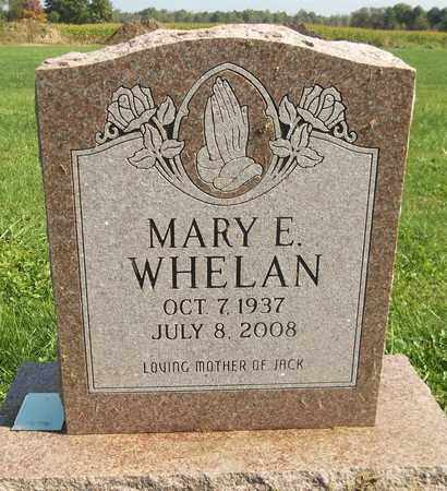 WHELAN, MARY E. - Trumbull County, Ohio | MARY E. WHELAN - Ohio Gravestone Photos
