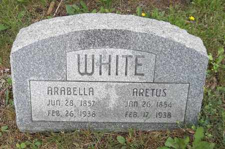 WHITE, ARETUS - Trumbull County, Ohio | ARETUS WHITE - Ohio Gravestone Photos