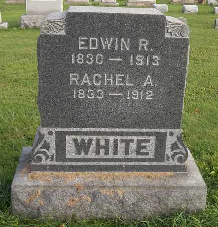 WHITE, EDWIN R. - Trumbull County, Ohio | EDWIN R. WHITE - Ohio Gravestone Photos