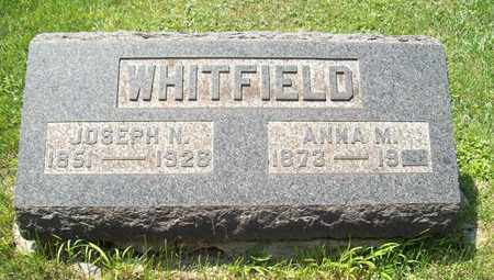WHITFIELD, ANNA M. - Trumbull County, Ohio | ANNA M. WHITFIELD - Ohio Gravestone Photos