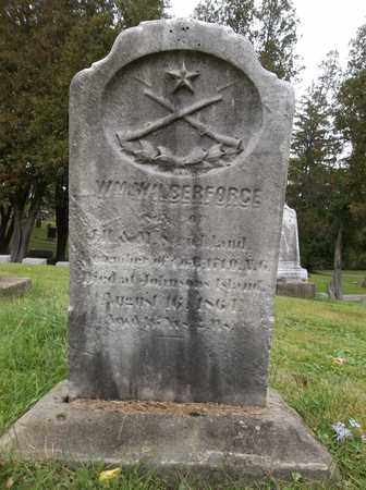 WILBERFORCE, WILLIAM - Trumbull County, Ohio | WILLIAM WILBERFORCE - Ohio Gravestone Photos