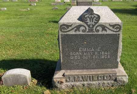WILCOX, EMMA E. - Trumbull County, Ohio | EMMA E. WILCOX - Ohio Gravestone Photos