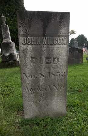 WILCOX, JOHN - Trumbull County, Ohio | JOHN WILCOX - Ohio Gravestone Photos