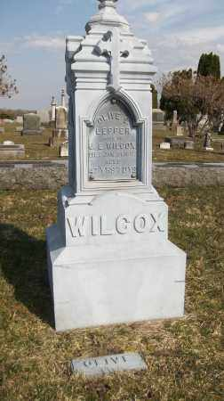 LEPPER WILCOX, OLIVE S. - Trumbull County, Ohio | OLIVE S. LEPPER WILCOX - Ohio Gravestone Photos