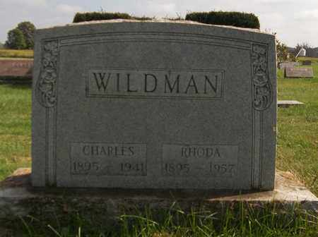 WILDMAN, RHODA - Trumbull County, Ohio | RHODA WILDMAN - Ohio Gravestone Photos