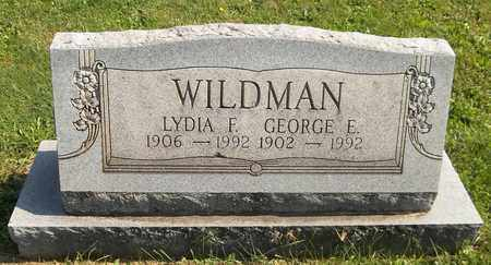WILDMAN, GEORGE E. - Trumbull County, Ohio | GEORGE E. WILDMAN - Ohio Gravestone Photos