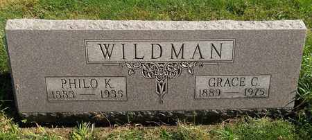 WILDMAN, GRACE C. - Trumbull County, Ohio | GRACE C. WILDMAN - Ohio Gravestone Photos