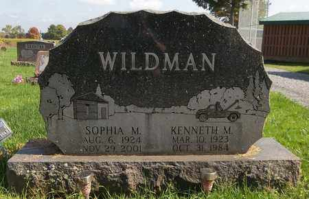 WILDMAN, KENNETH M. - Trumbull County, Ohio | KENNETH M. WILDMAN - Ohio Gravestone Photos