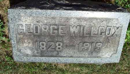 WILLCOX, GEORGE - Trumbull County, Ohio | GEORGE WILLCOX - Ohio Gravestone Photos