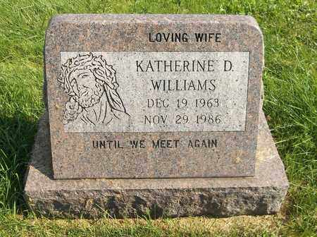 WILLIAMS, KATHERINE D. - Trumbull County, Ohio | KATHERINE D. WILLIAMS - Ohio Gravestone Photos