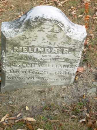 WILLIAMS, MELINDA B. - Trumbull County, Ohio | MELINDA B. WILLIAMS - Ohio Gravestone Photos