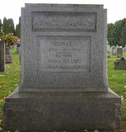 WILLIAMS, ANNA - Trumbull County, Ohio | ANNA WILLIAMS - Ohio Gravestone Photos