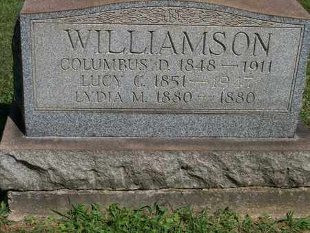 CLARK WILLIAMSON, LUCY - Trumbull County, Ohio | LUCY CLARK WILLIAMSON - Ohio Gravestone Photos