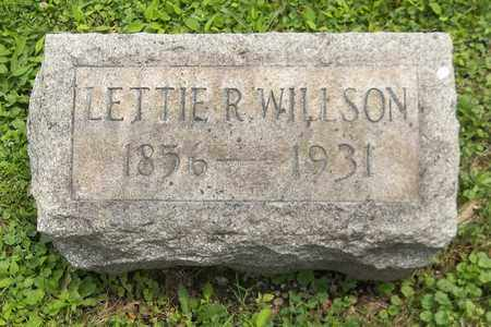 WILLSON, LETTIE R. - Trumbull County, Ohio | LETTIE R. WILLSON - Ohio Gravestone Photos