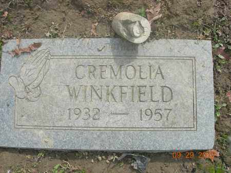 WINKFIELD, CREMOLIA - Trumbull County, Ohio | CREMOLIA WINKFIELD - Ohio Gravestone Photos