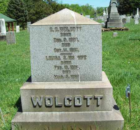 WOLCOTT, LOUISA S. - Trumbull County, Ohio | LOUISA S. WOLCOTT - Ohio Gravestone Photos